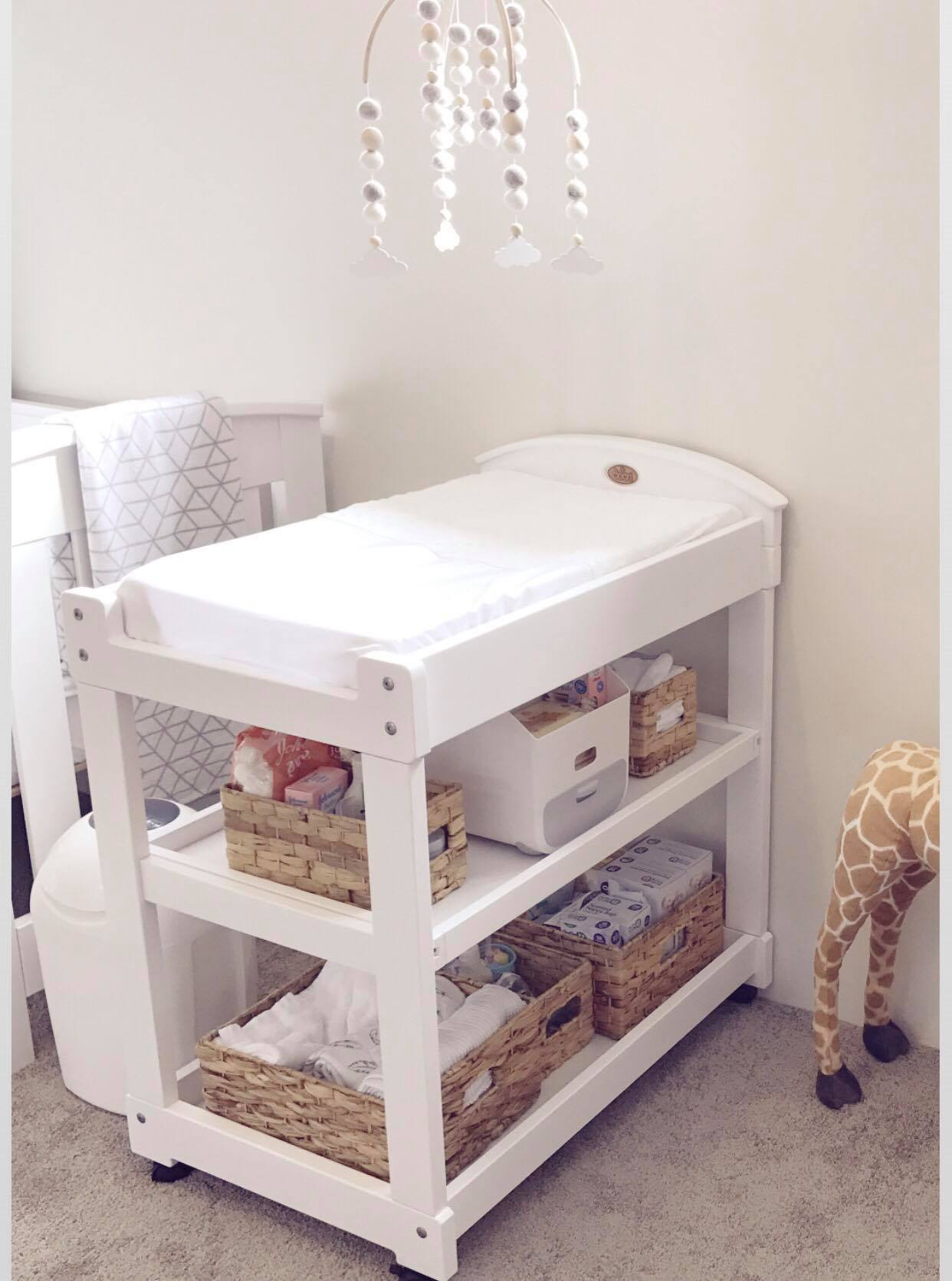 Finally I Have Set Up All The Bits And Pieces I Need For My Change Table!  For Those People That Know Me Well, I Tend To Be Highly Organised, ...